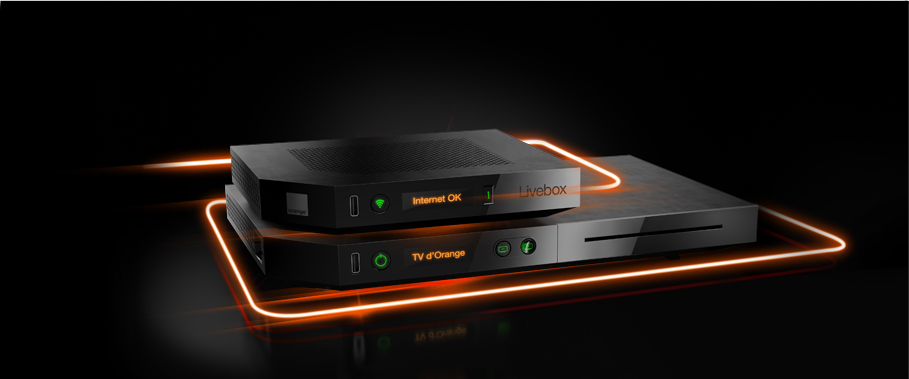 La nouvelle livebox play d'orange