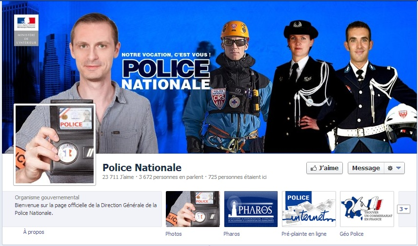 Police Nationale Facebook