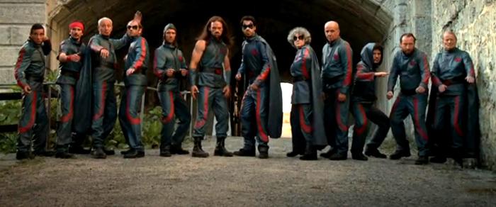 Les personnages de Hero Corp