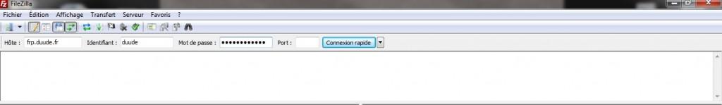 Filezilla Client FTP Se connecter