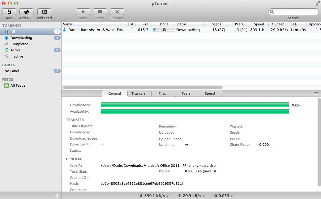 un accelerateur de telechargement pour utorrent